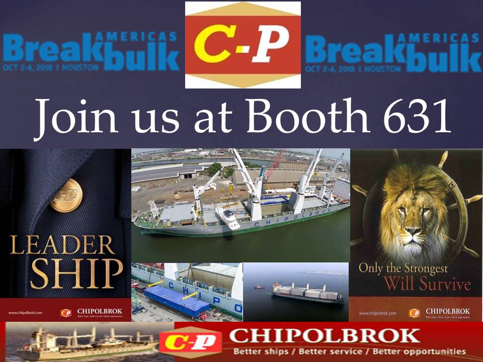 Breakbulk 2018 Houston